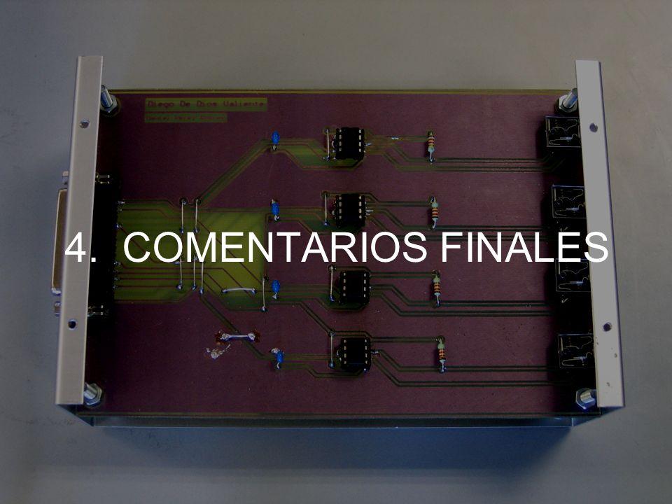 4. COMENTARIOS FINALES