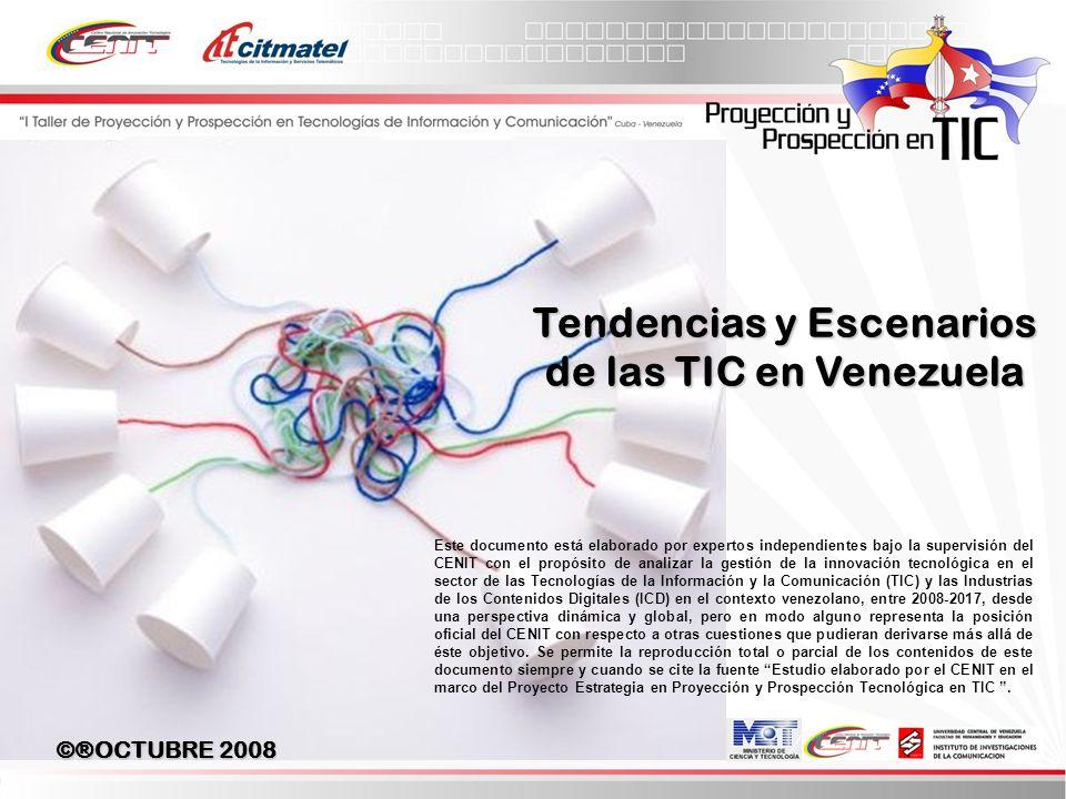 Tendencias y Escenarios de las TIC en Venezuela