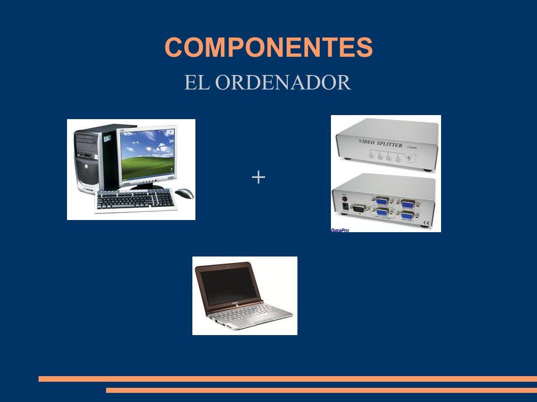 EL ORDENADOR COMPONENTES +
