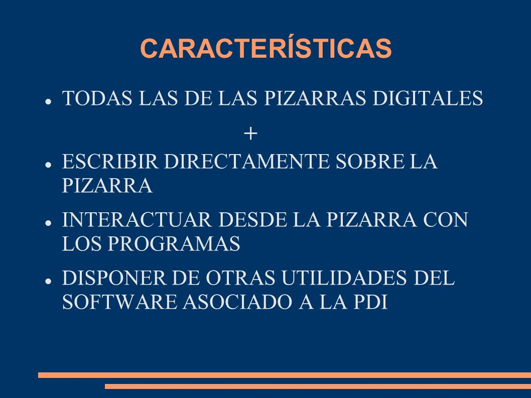 CARACTERÍSTICAS + TODAS LAS DE LAS PIZARRAS DIGITALES