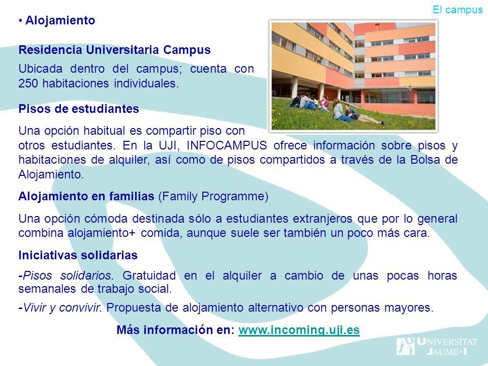 Más información en: www.incoming.uji.es