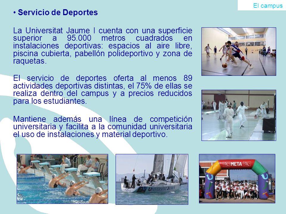 El campus Servicio de Deportes.