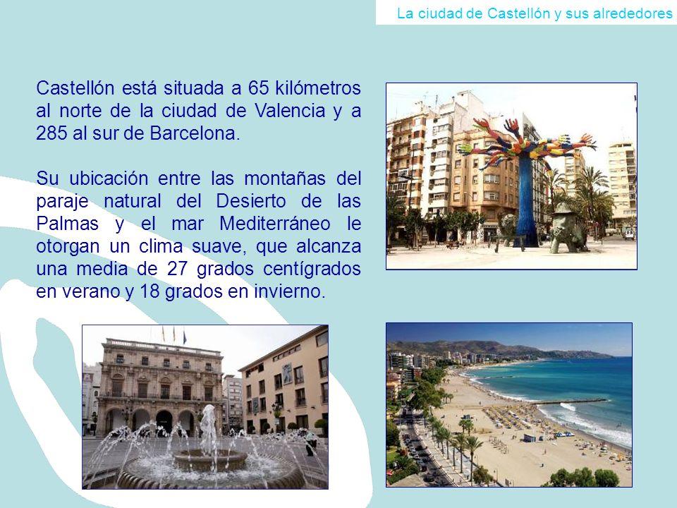 La ciudad de Castellón y sus alrededores