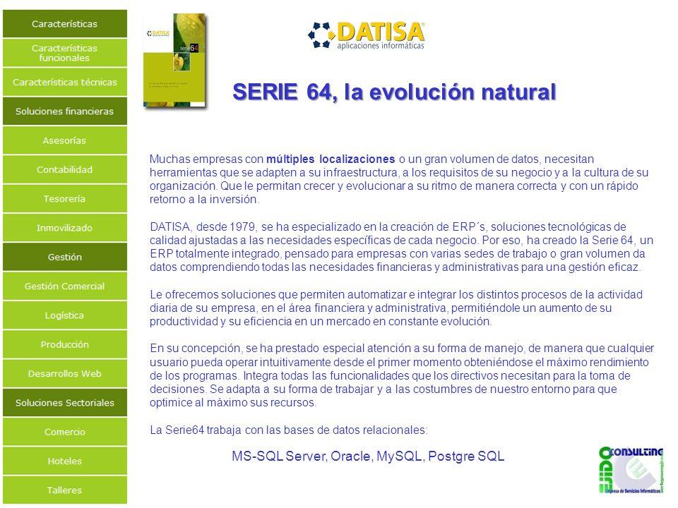 SERIE 64, la evolución natural