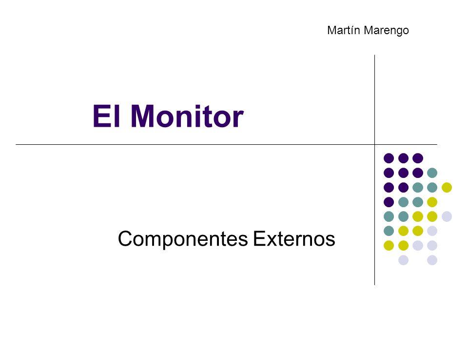 Martín Marengo El Monitor Componentes Externos