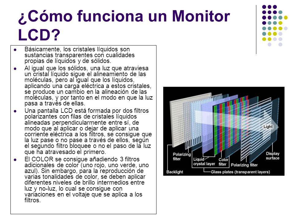 ¿Cómo funciona un Monitor LCD