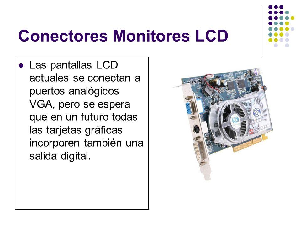 Conectores Monitores LCD