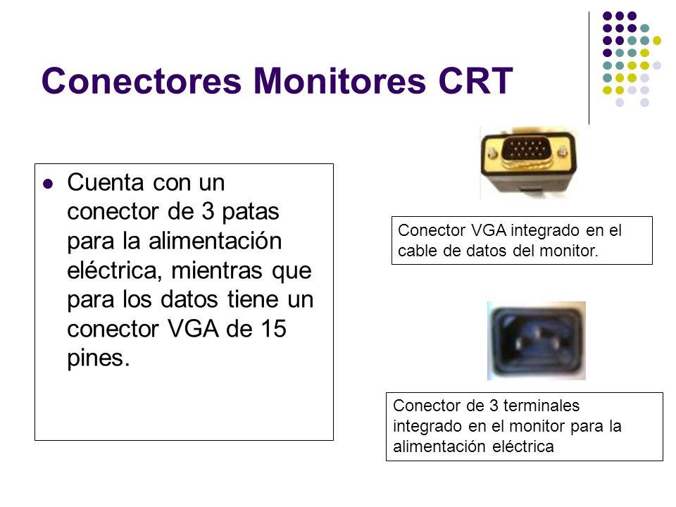 Conectores Monitores CRT