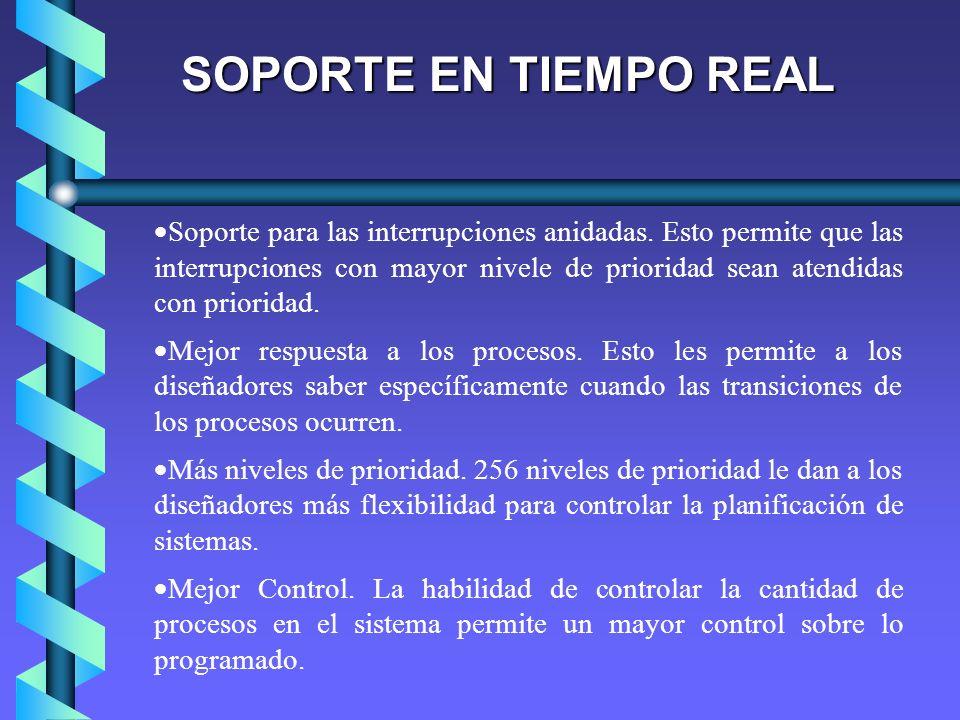 SOPORTE EN TIEMPO REAL
