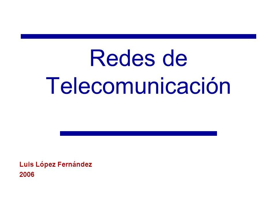 Redes de Telecomunicación
