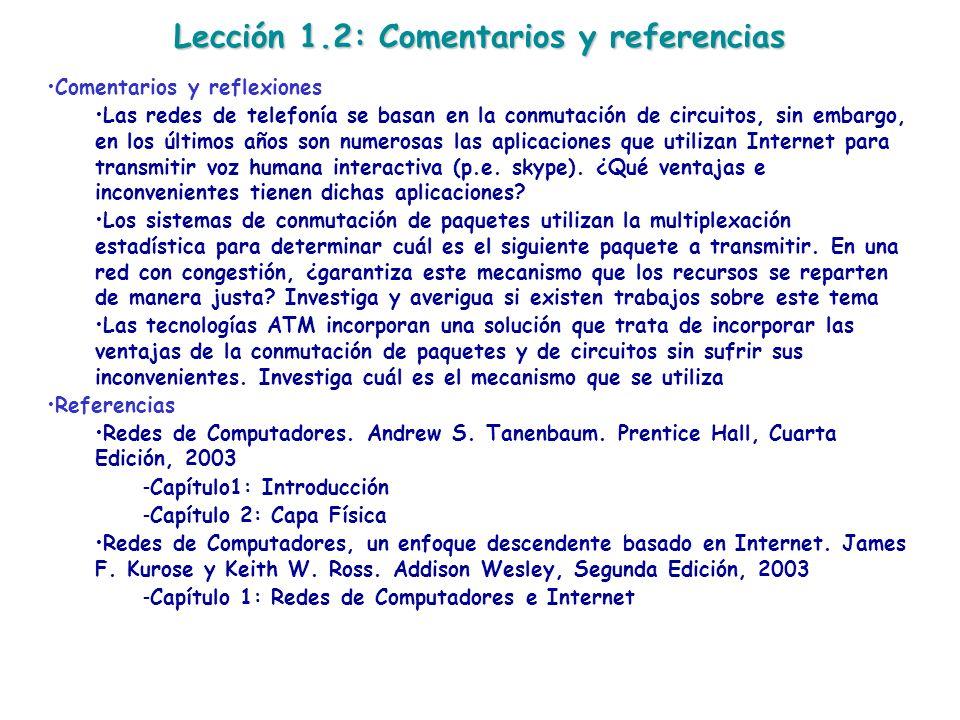 Lección 1.2: Comentarios y referencias
