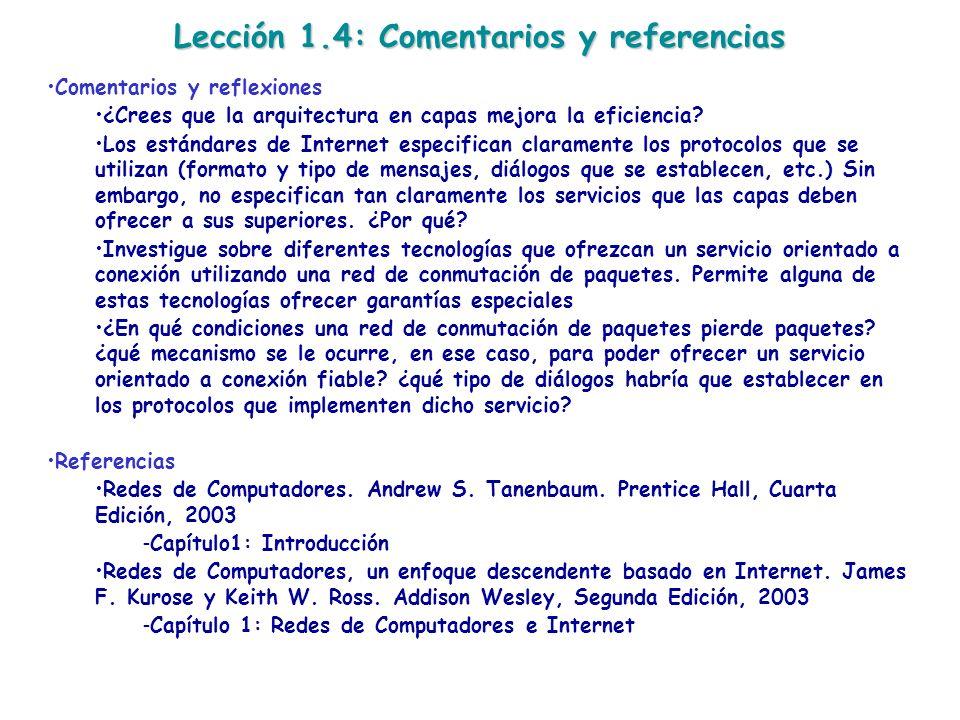Lección 1.4: Comentarios y referencias