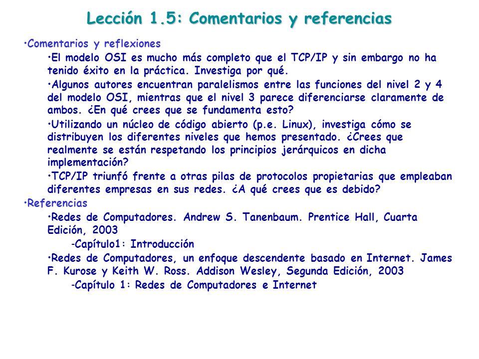 Lección 1.5: Comentarios y referencias