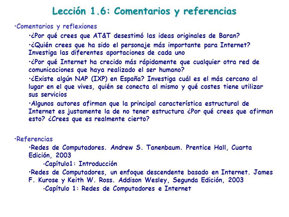 Lección 1.6: Comentarios y referencias