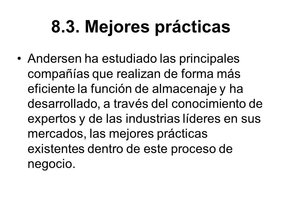 8.3. Mejores prácticas