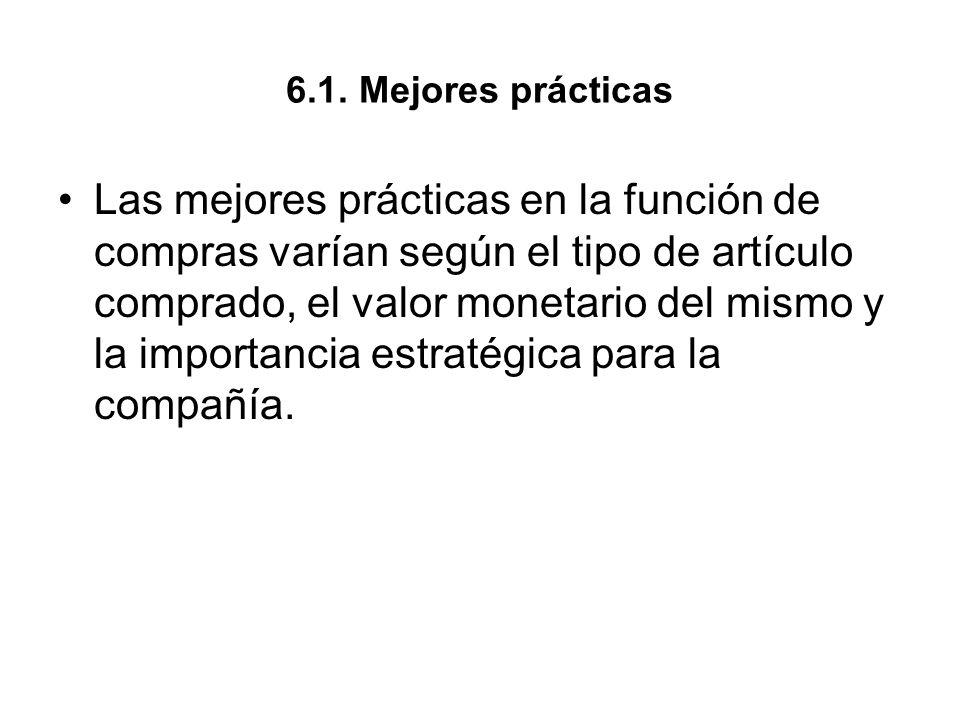 6.1. Mejores prácticas