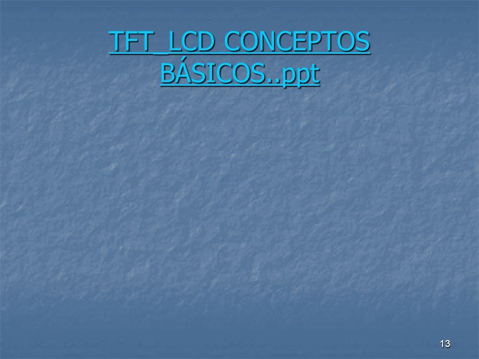 TFT_LCD CONCEPTOS BÁSICOS..ppt