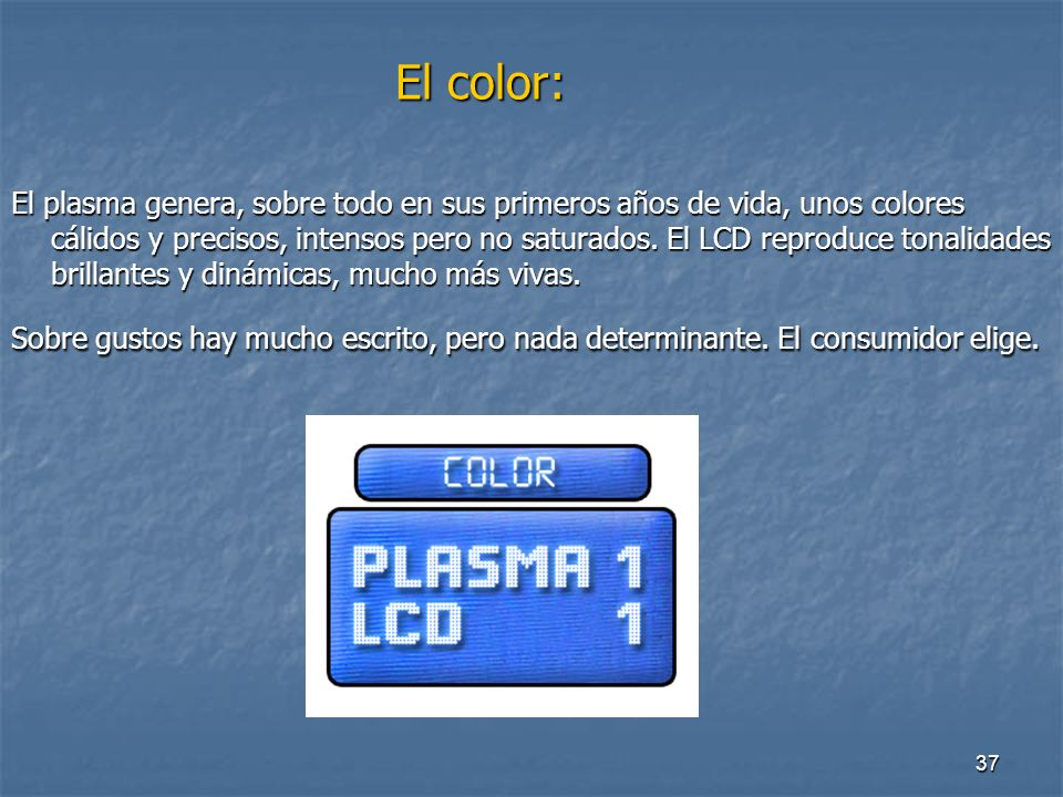 El color: