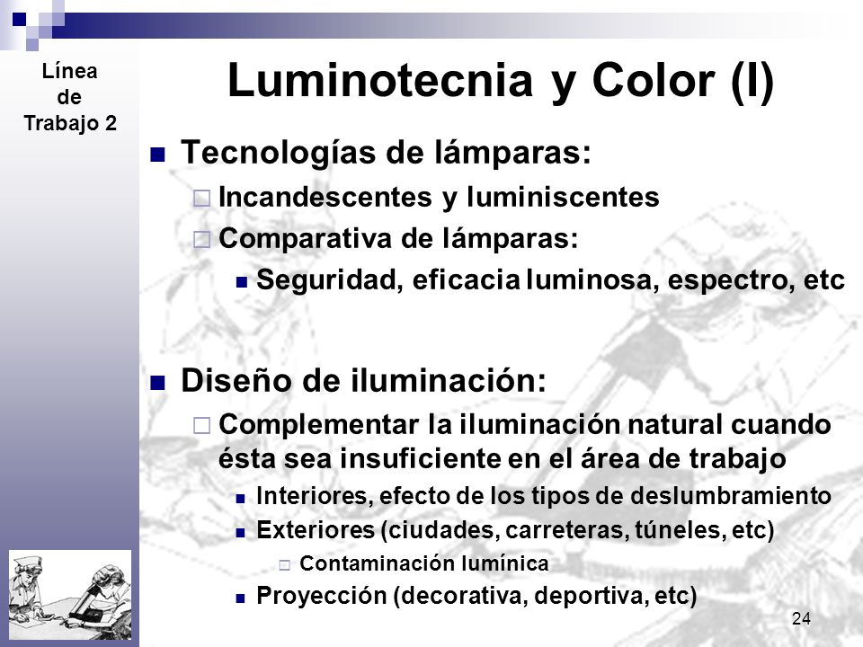 Luminotecnia y Color (I)