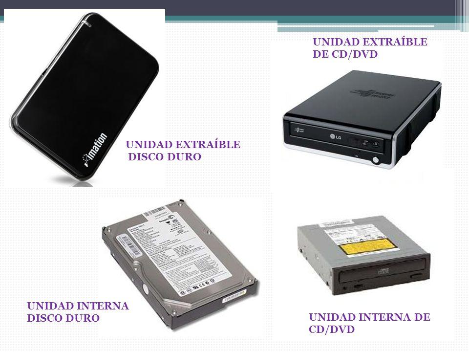 UNIDAD EXTRAÍBLE DE CD/DVD
