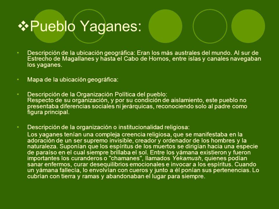 Pueblo Yaganes: