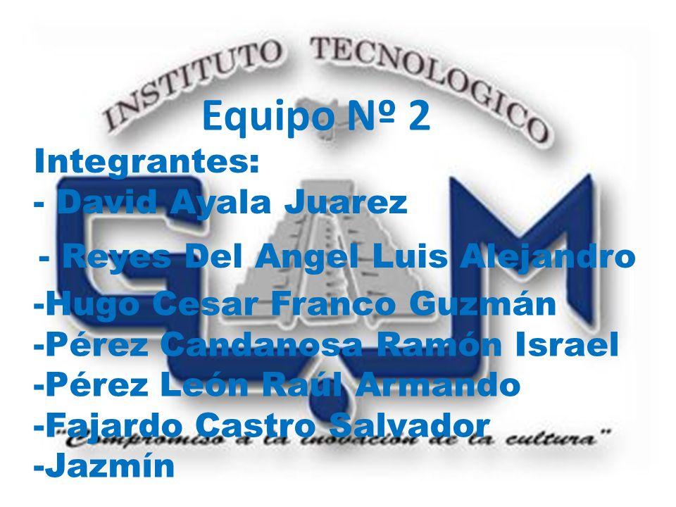 Equipo Nº 2 Integrantes: - David Ayala Juarez