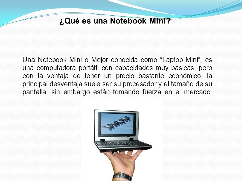 ¿Qué es una Notebook Mini