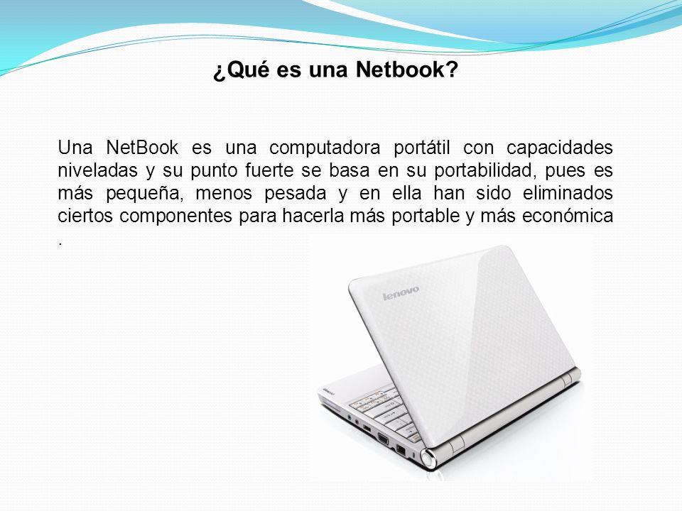¿Qué es una Netbook