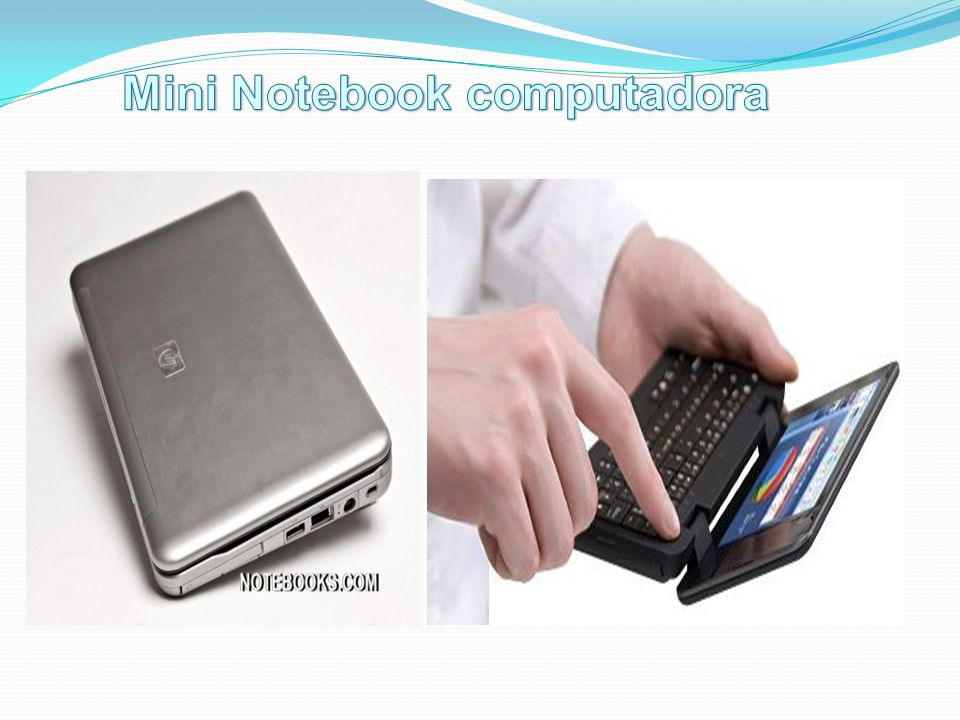 Mini Notebook computadora