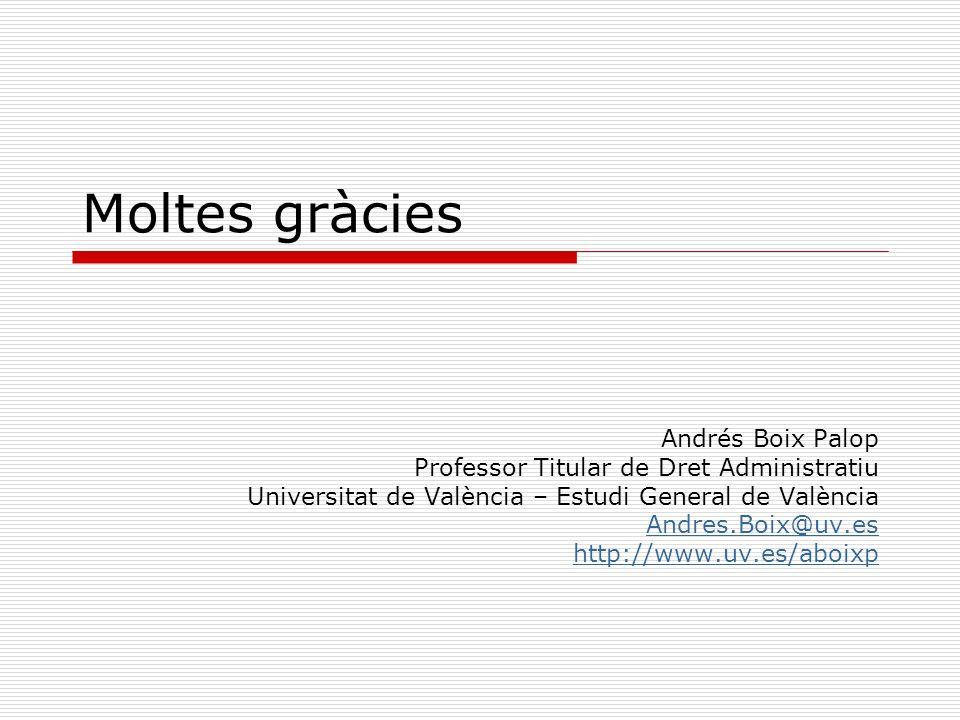 Moltes gràcies Andrés Boix Palop