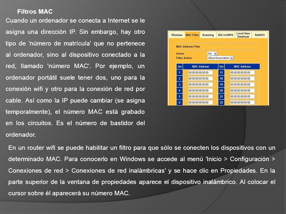 Filtros MAC