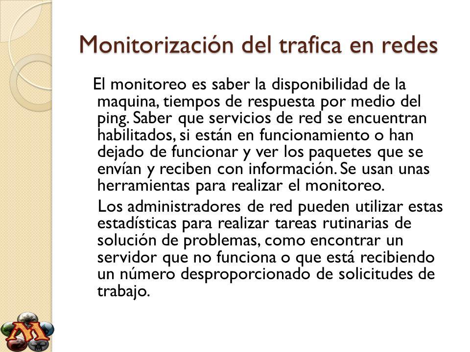 Monitorización del trafica en redes