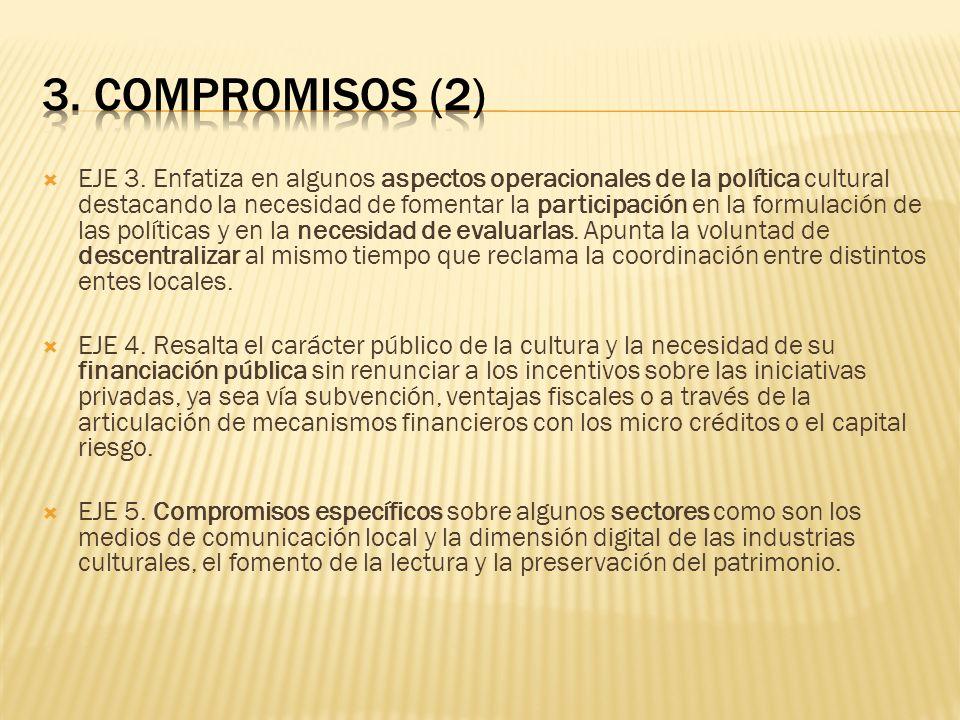 3. COMPROMISOS (2)
