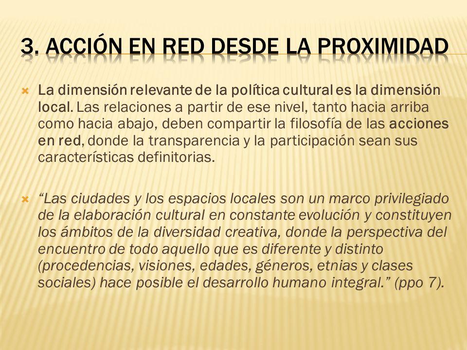3. ACCIÓN EN RED DESDE LA PROXIMIDAD