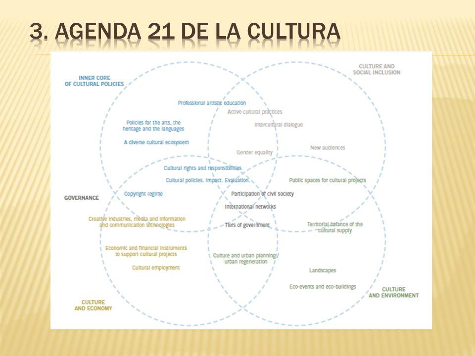 3. Agenda 21 de la Cultura