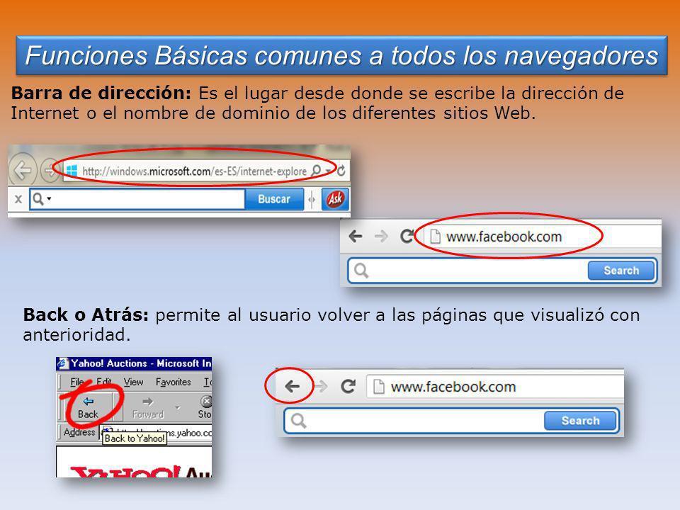 Funciones Básicas comunes a todos los navegadores