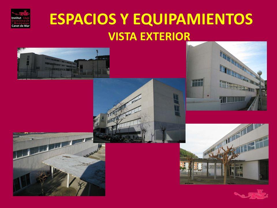 ESPACIOS Y EQUIPAMIENTOS VISTA EXTERIOR