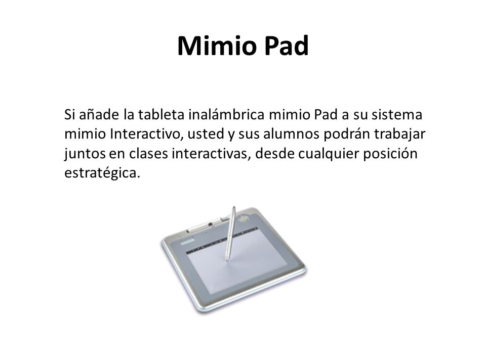 Mimio Pad