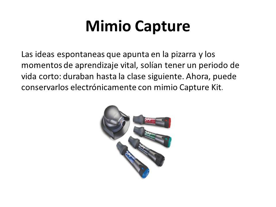 Mimio Capture