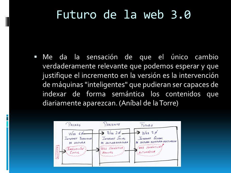 Futuro de la web 3.0