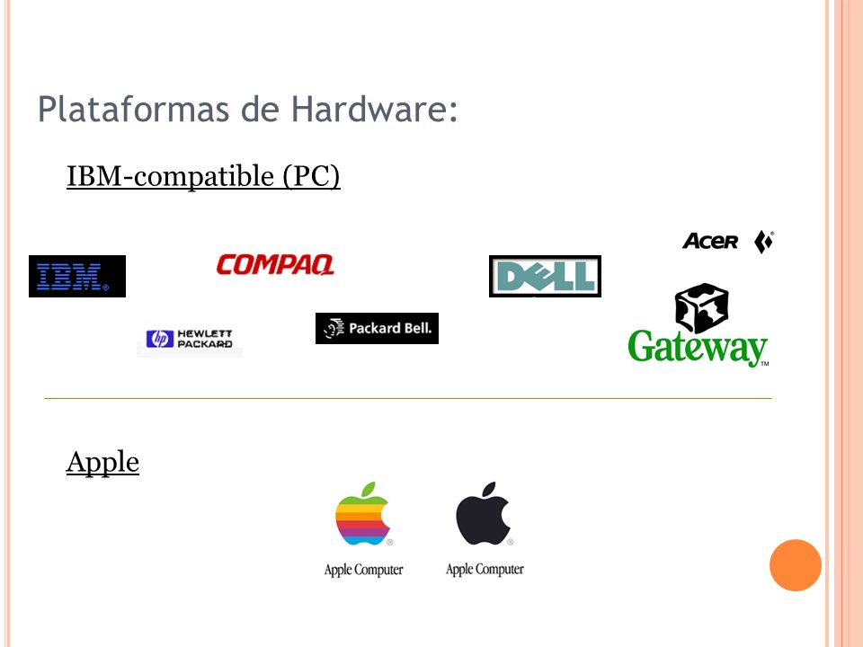 Plataformas de Hardware: