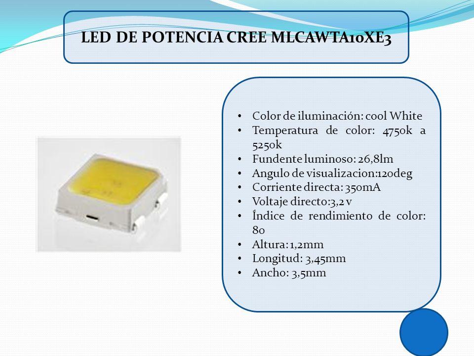 Led de potencia Cree MLCAWTA10XE3