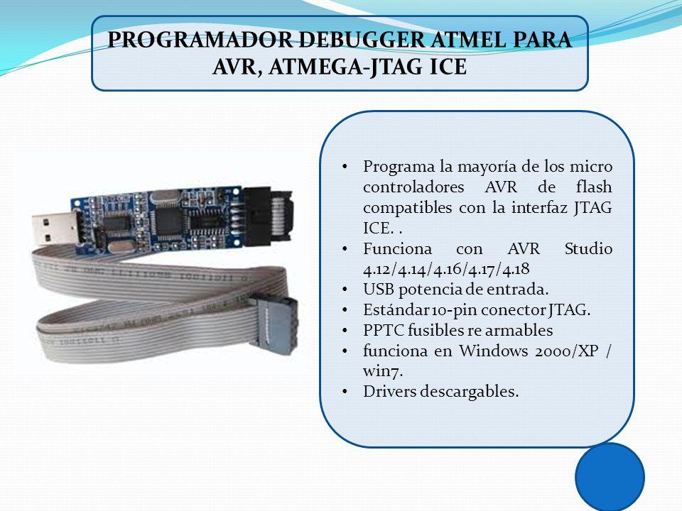 PROGRAMADOR DEBUGGER ATMEL PARA AVR, ATMEGA-JTAG ICE