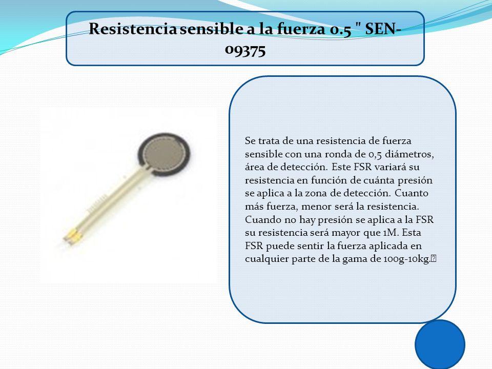 Resistencia sensible a la fuerza 0.5 SEN-09375