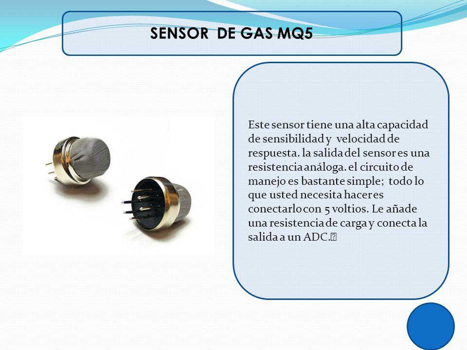SENSOR DE GAS MQ5
