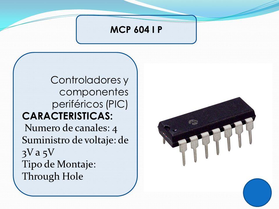 Controladores y componentes periféricos (PIC)