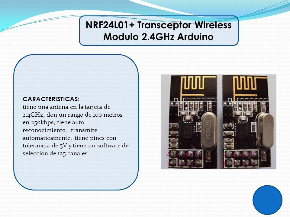NRF24L01+ Transceptor Wireless Modulo 2.4GHz Arduino