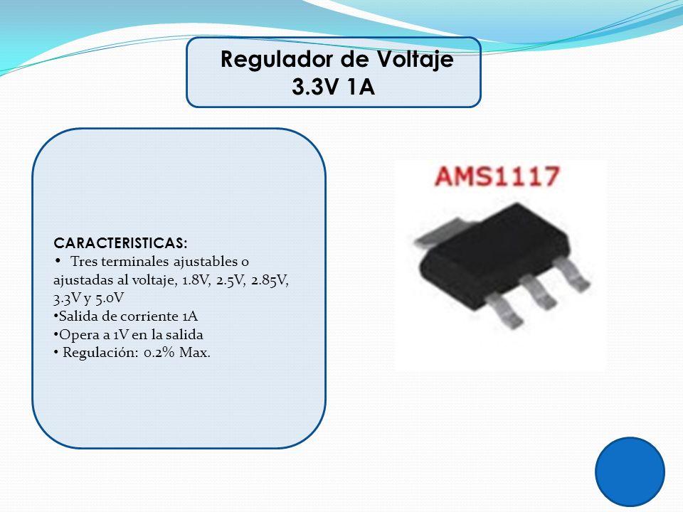Regulador de Voltaje 3.3V 1A