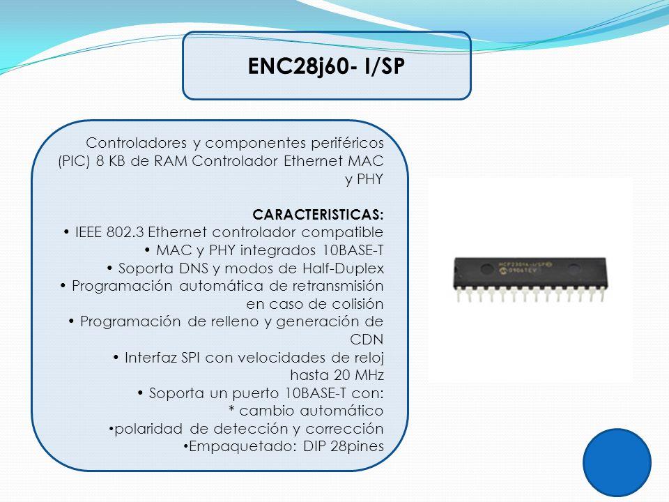 ENC28j60- I/SP