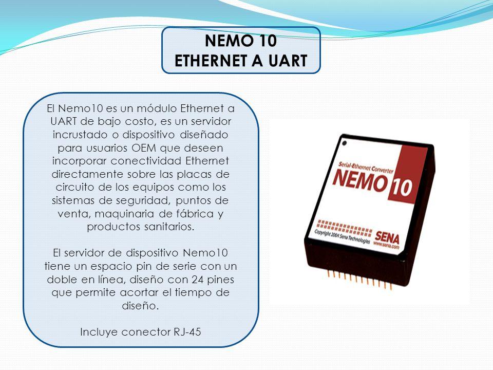 NEMO 10 ETHERNET A UART.